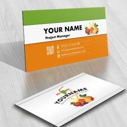 3303-Fruit-juice-LOGO-Image-free-card-design