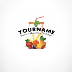 3303--Fruit-juice-logo-template