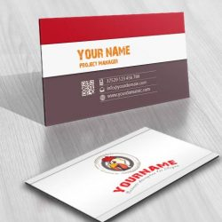 3304-Chicken-logo-Image-free-card-design