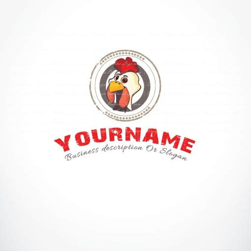 3304--Chicken-logo-template