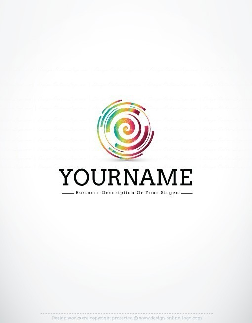 3308-Colorful-spiral-logo-design-template