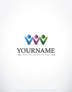 3309-People-holding-hands-logo-design-template