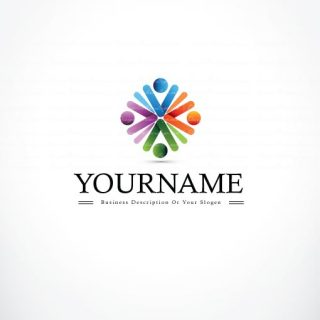 3310-People-group-logo-design-template