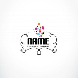 3314-Colorful-bubbles-logo-design-template