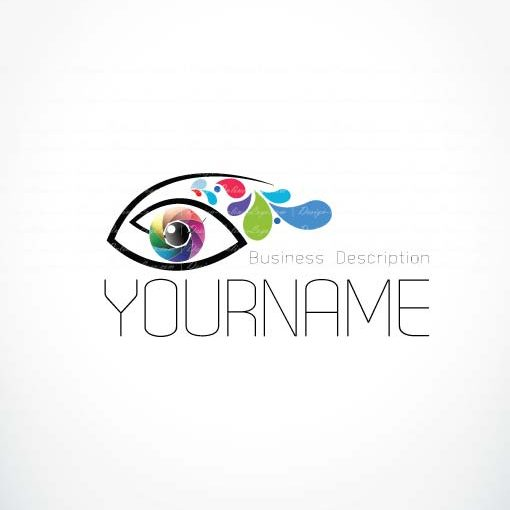 Exclusive Logo Design: Eye Logo + FREE Business Card