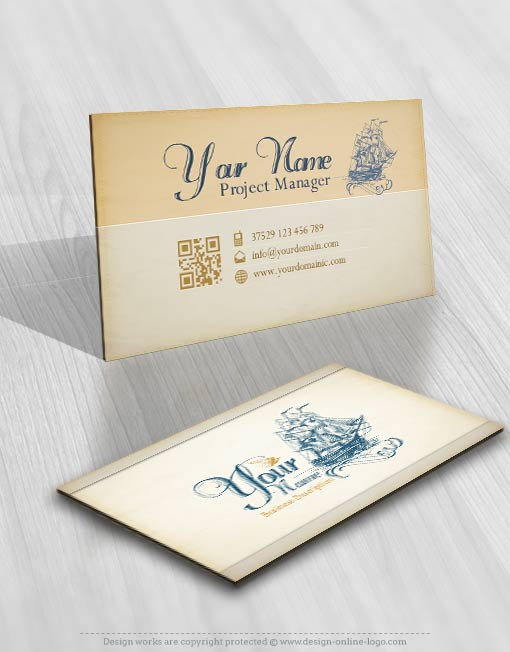 3331-retro-logo-Image-free-card-design