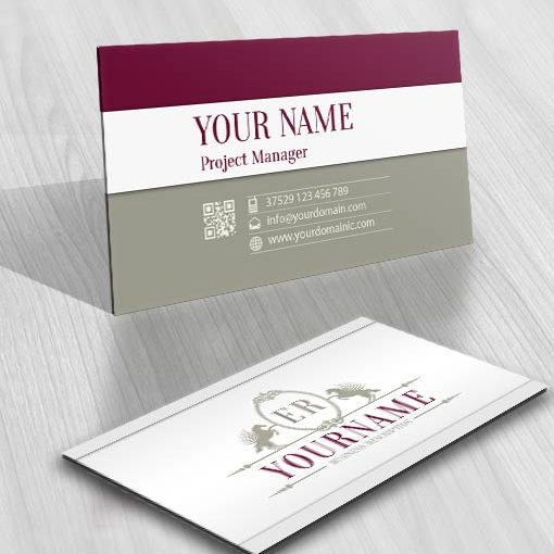 3333--english-Horses-logo-Image-free-card-design