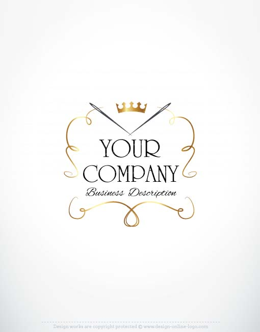 Exclusive Logo Design Sewing Fashion Logo