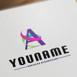 Alphabet-logo-design-template
