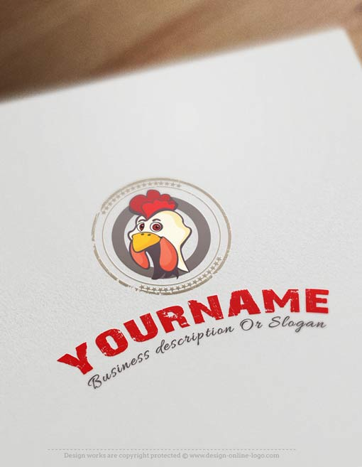 Chicken-logo-template