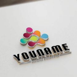 human-Dots-logo-design-template