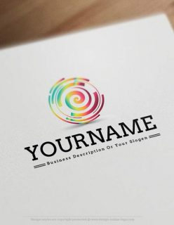 spiral-logo-design-template