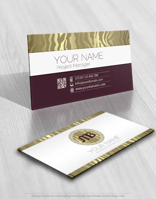 3341-tiger-skin-logo-Image-free-card-design