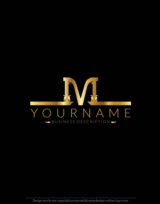 Exclusive Logo Design: m logo + FREE Business Card