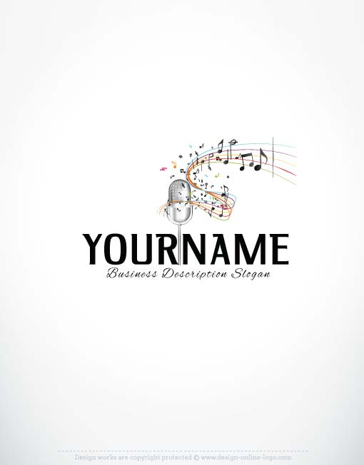 3354-music-logo-design-template