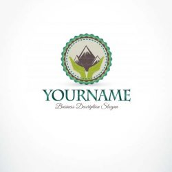3360-green-Mountain-logo-design-template