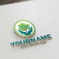 green-tree-logo-design-template