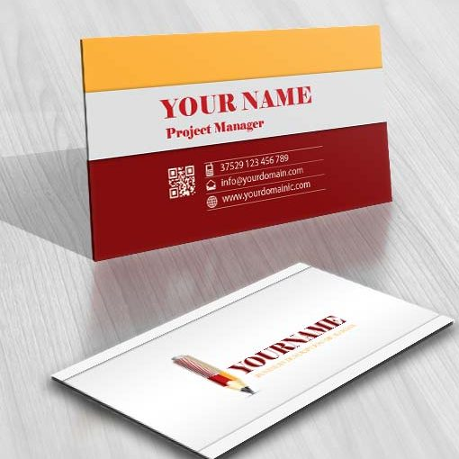 3364-Architect-Pencil-logo-Image-free-card-design