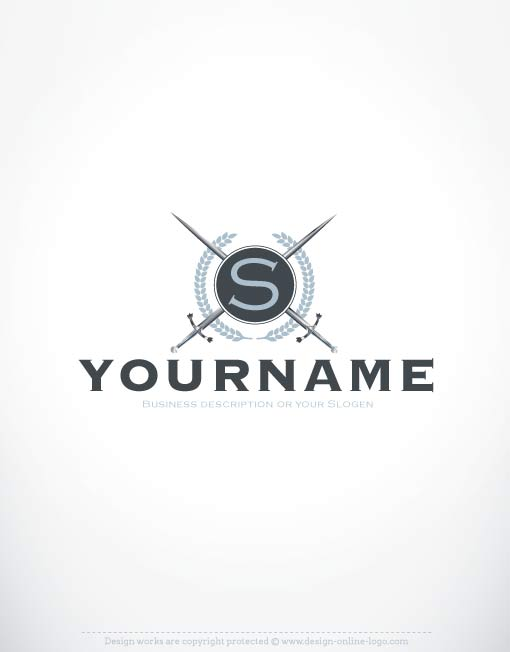 3369-create-a-logo-Swords-logos