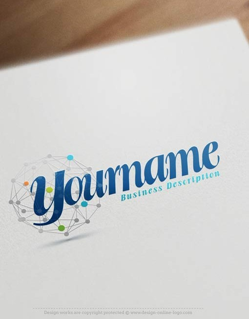 ready-made-abstract-dots-logo-template