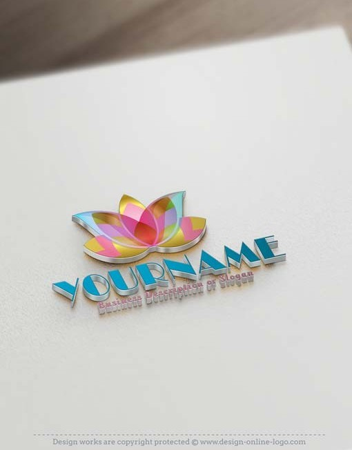 ready-made-lotus-flower-logo-template