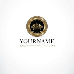 3399-ready-made-crown-vintage-logo-template