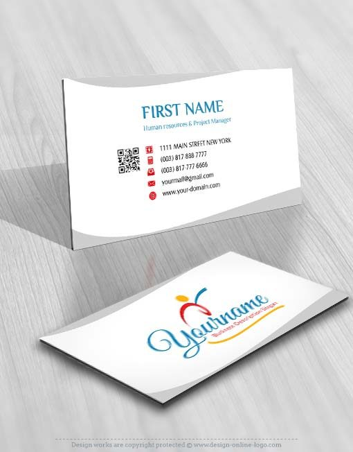 3411-sports-logo-free-business-card