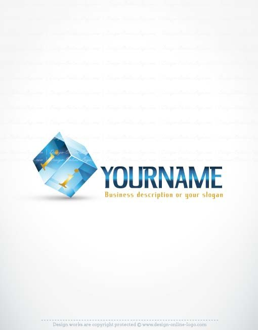 3419-3D-Cube-logo-design-template