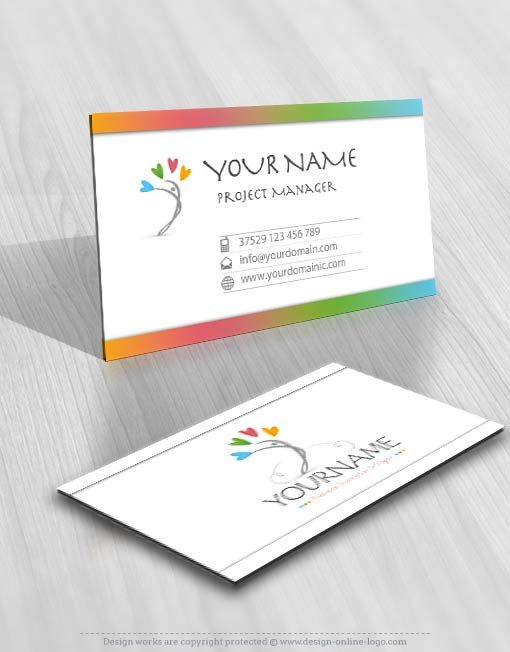 3426-Human-love-logo-design-free-business-card