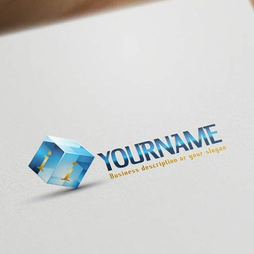 3D-Cube-logo-design-template