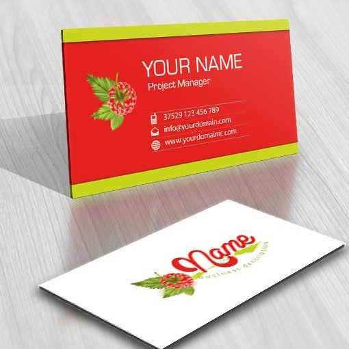 3435-Raspberry-logo-design-free-business-card