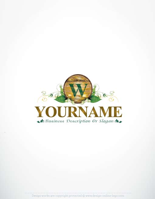 3438-Green-wood-logo-design-online-logos-store