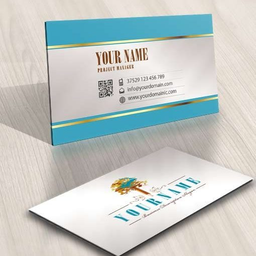 3442-Pencil-tree-logo-design-free-business-card