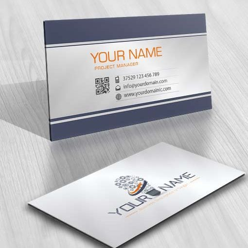 3447-Industrial-Lighting-logo-design-free-business-card