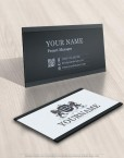 3450-Lions-logo-Free-business-card-design