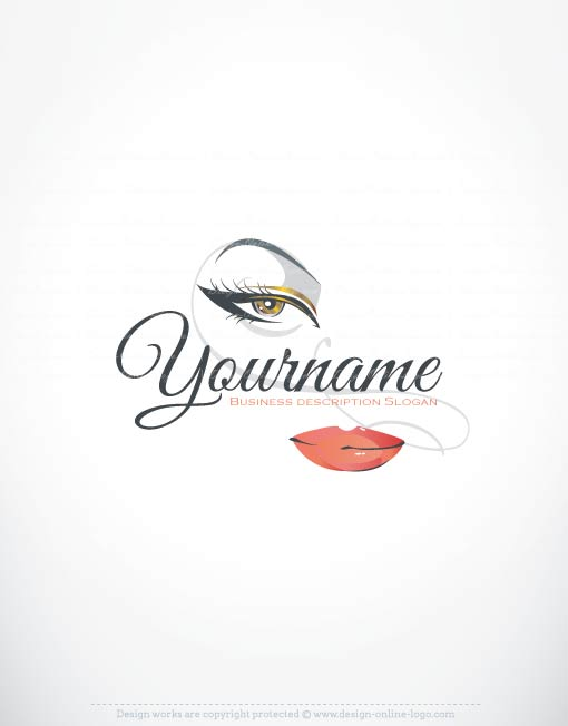 Exclusive Logos Store Makeup Logo Design