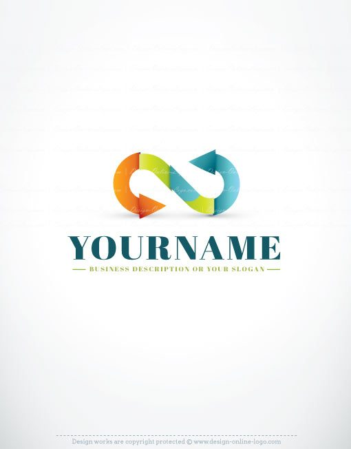3461-Online-infinity-logo-template