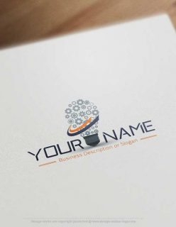 Industrial-Lighting-logo-design-for-sale-online