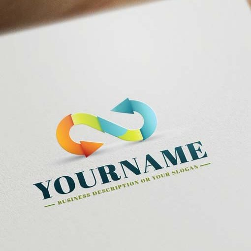 Online-infinity-logo-template