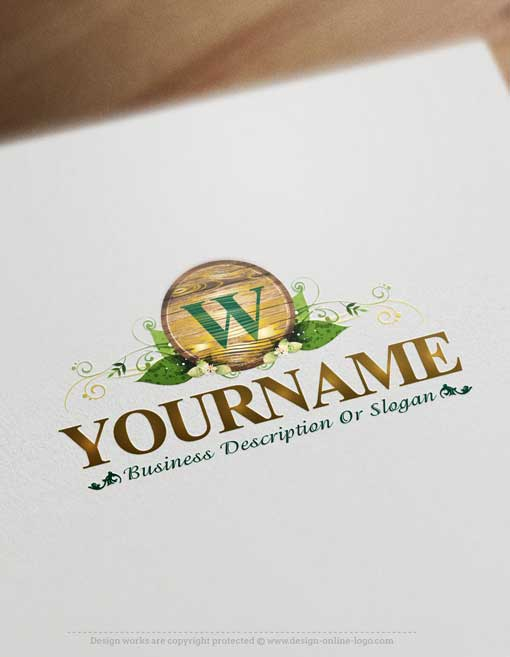 Wood-logo-design-free-business-card