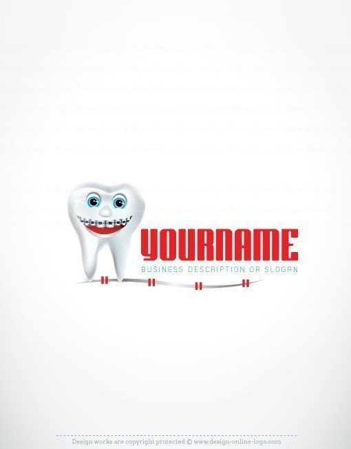3465-Online-Dental-Braces-logo-design