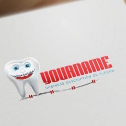 Online-Dental-Braces-logo-design