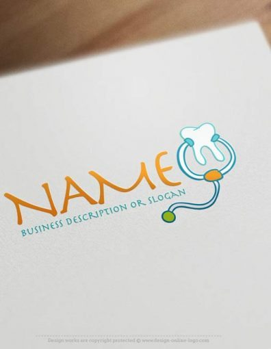 Online-Dental-kids-logo-design