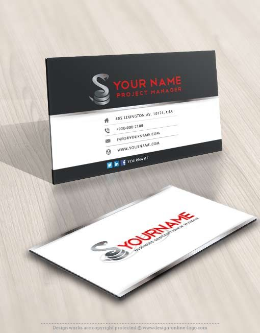 3501-snake-logo-design-free-business-cards