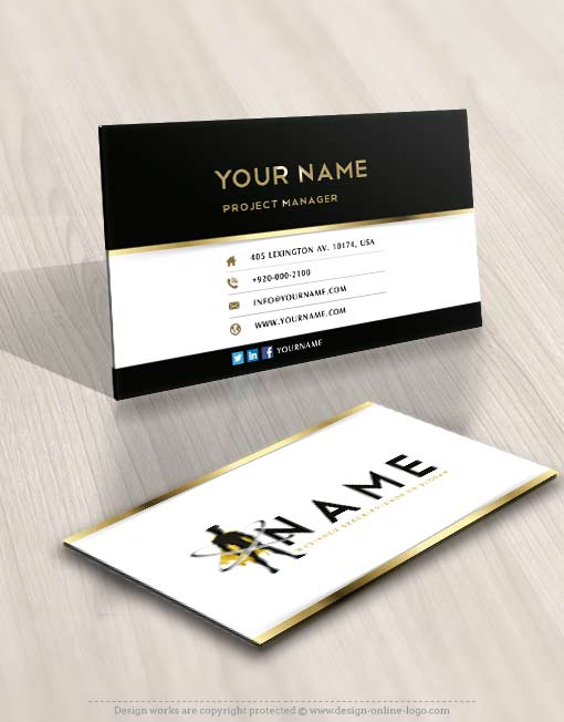 3508 superhero logo design free business cards - Business Cards For Sale