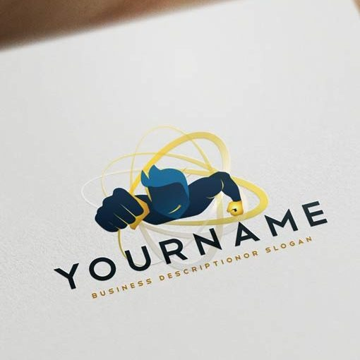 Ready made Exclusive Hero Logo Design Online + FREE Business Cards for sale online.