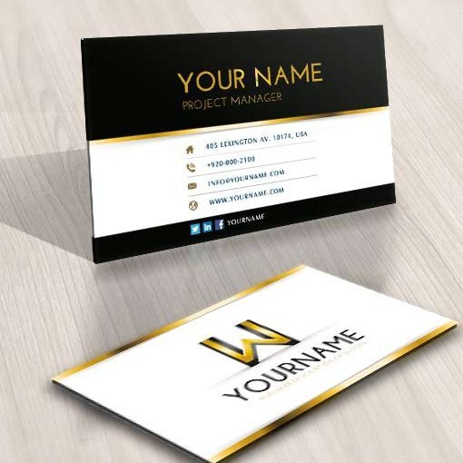 W Logo design FREE Business Cards design