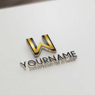Ready made Exclusive online W Logo design