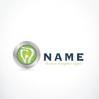 Exclusive Dental Logo Design for sale - free business card design